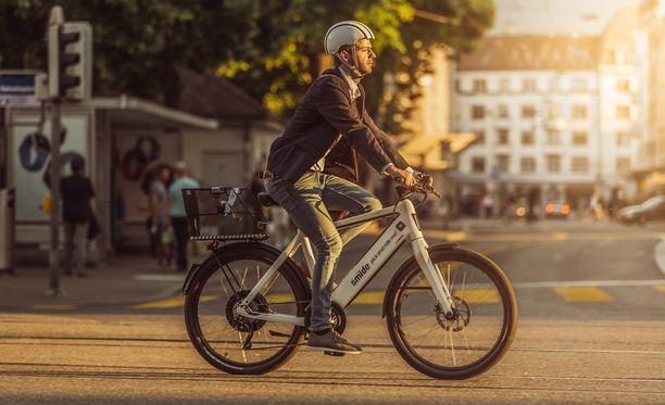 Smide-pyörät kulkevat lähes 50 kilometriä tunnissa.