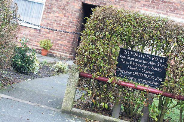 Beatles-tähtien lapsuudenkodit ovat arkisia.
