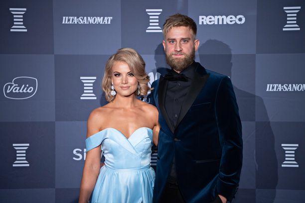 Janni Hussi ja Joel Harkimo alkoivat seurustella vuonna 2018.