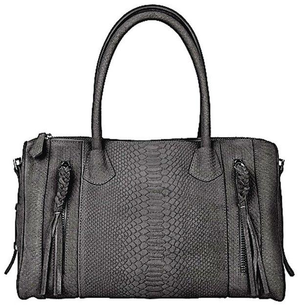 Mattamusta laukku näyttää sopivasti kuluneelta. 99 €, Hennes & Mauritz