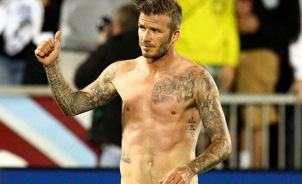 David Beckham on leimannut itseään urakalla.