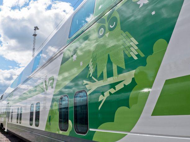 VR:n viestinnän mukaan viivästys koskee lähijunaliikenteen A- ja I-junia. Kuvituskuva.