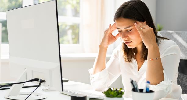 Moni kokee henkistä uupumusta työssään.