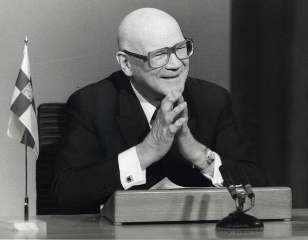 Urho Kekkonen toimi SUL:n puheenjohtajana 1932–47 ja Suomen presidenttinä 1956–82.