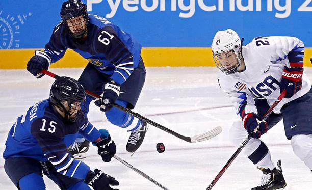 Varkausyritys sattui Suomen ja USA:n ottelun aikana.