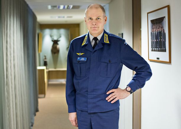 Jarmo Lindberg toimi puolustusvoimien komentajana 2014–2019.