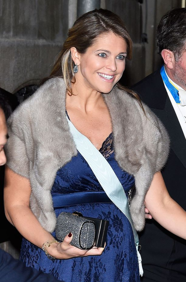Kuvassa prinsessa Madeleine joulukuussa edustamassa.