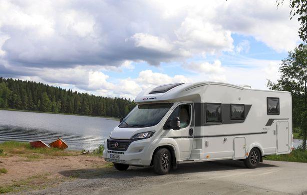Kotimaanmatkailun lisääntyminen näkyy myös matkailuautojen myynnin voimakkaassa kasvussa.