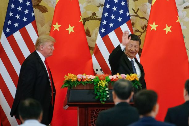 Yhdysvaltain presidentti Donald Trump ja Kiinan presidentti Xi Jinping tapasivat Pekingissä viime marraskuussa.