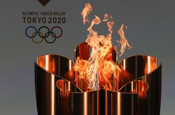 Olympialaiset siirtyivät viime vuodelta täksi vuodeksi koronaviruspandemian vuoksi.