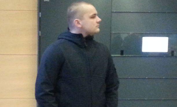 Jesse Torniainen, yksi syytetyistä.