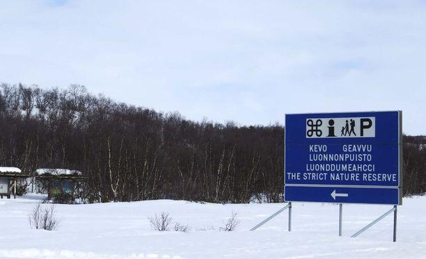 Utsjoen Kevo on Suomen kylmimpiä paikkoja.
