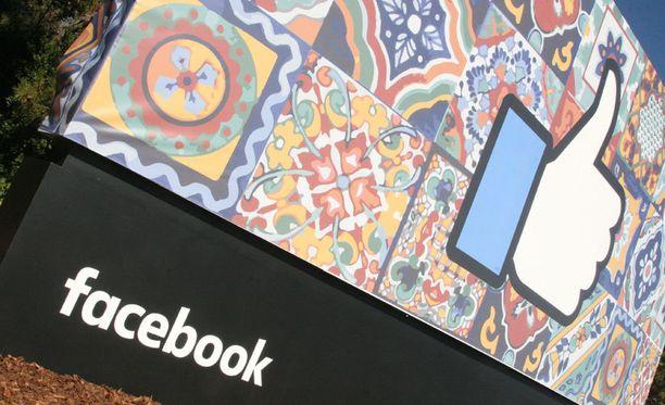 Facebookin uusi pääkonttori Kalifornian Menlo Parkissa.