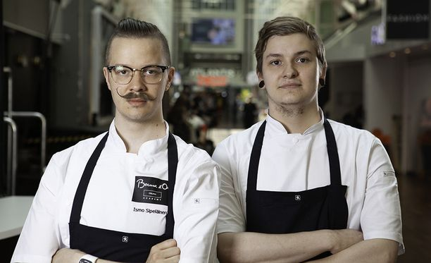 Ismo Sipeläinen ja Johan Kurkela kilpailevat Bocuse d'Or -kilpailun osakilpailussa 12. kesäkuuta.