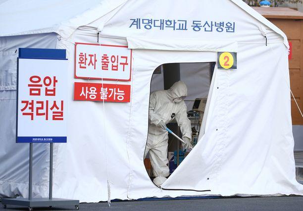 Etelä-Korea on johtava maa koronaviruksen testaamisessa.