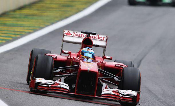 Ferrarin F1-auto kantoi nimeä F138 kaudella 2013.