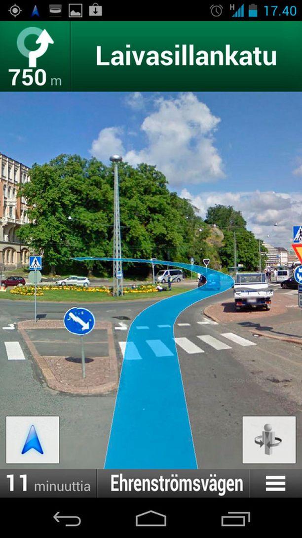 Google Maps Navigointi Kameratolpat