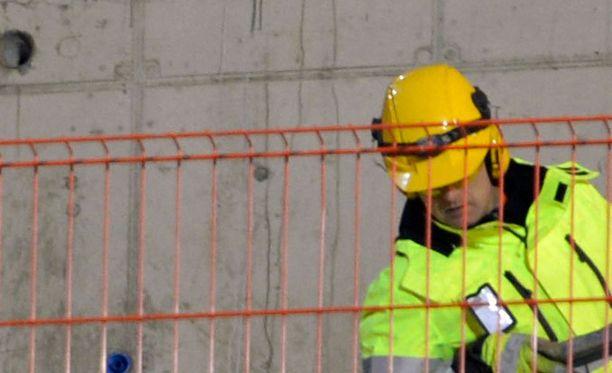 Työtapaturma tapahtui työmaalla Vantaalla. Kuvituskuva.