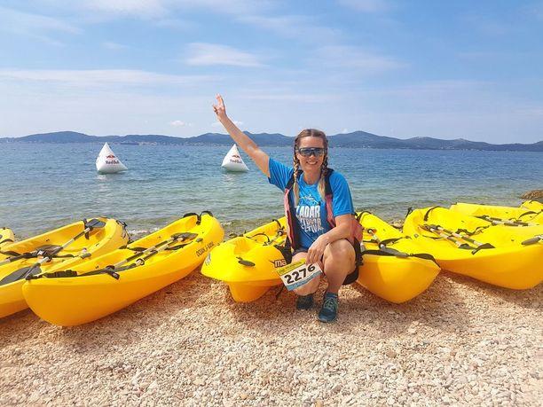 Zadar Outdoor Festival kerää keväisin kaupunkiin liikunnasta innostuneita.