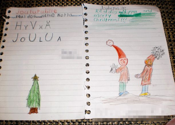 Lapset toivoivat joulupukilta vain yhtä lahjaa: Noppa-koiraa.
