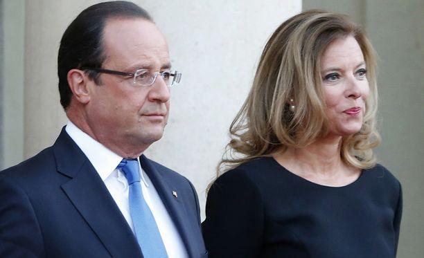 Hollande ja Trierweiler ehtivät pitää yhtä useita vuosia.