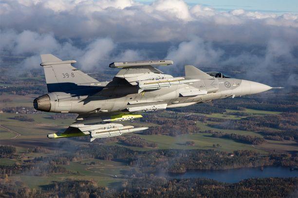 Ruotsin ilmatilaa loukataan säännöllisesti ja yhä aggressiivisemmin.