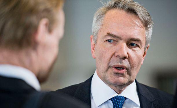 Kansanedustaja Pekka Haavisto.