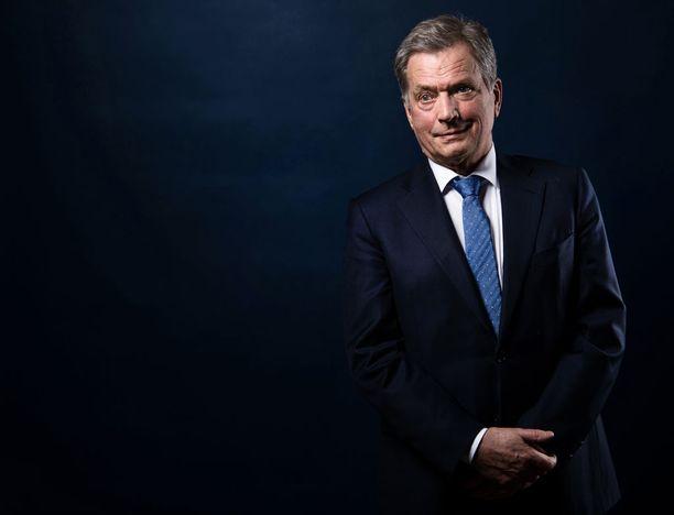 Sauli Niinistö hermostui pariin otteeseen Ylen vaalitentissä.