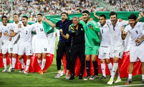 Iran juhli maanantaina MM-lopputurnauspaikkaa.