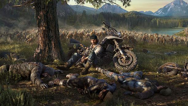 Pelaajaan tulee vauhtia, kun jättimäiset zombilaumat lähestyvät.