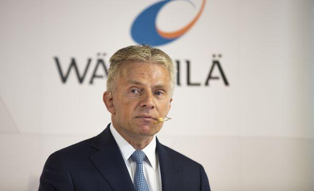 Wärtsilän konsernijohtaja Jaakko Eskola.