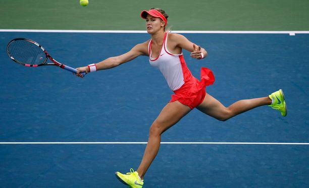 Eugenie Bouchardin jatko US Openissa on vaarassa.