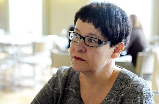 """Tarja Filatov toivoi """"SSS-miesten"""" pitävän Suomesta hyvää huolta."""