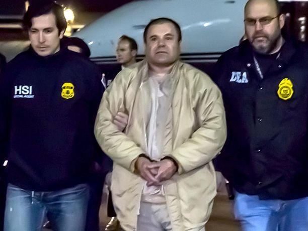 Meksiko luovutti Guzmanin Yhdysvalloille tuomittavaksi vuonna 2017.