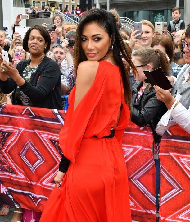 Nicole Scherzinger palaa taas X-Factor-ohjelman tuomaristoon.