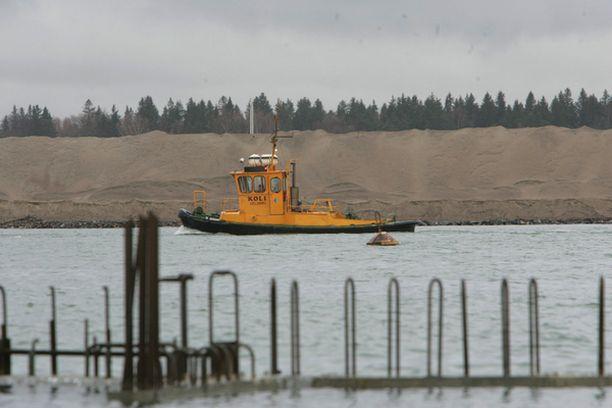 Vuosaaren satama päästään ottamaan käyttöön syksyllä.