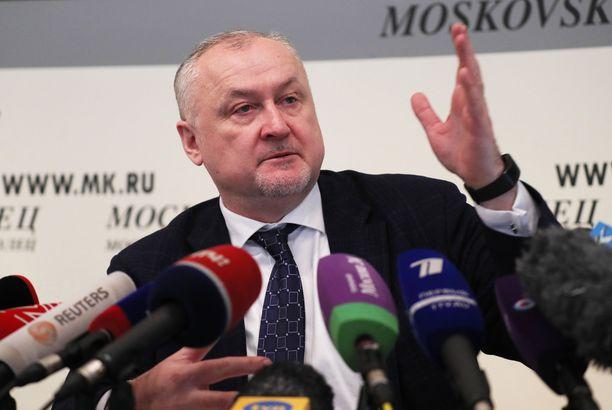 Venäjän antidopingtoimiston johtaja Juri Ganus johtaa muutosta, joka pyrkii vakuuttamaan Wadan ja kansainväliset liitot venäläisen urheilun ja antidopingtoiminnan uskottavuudesta.