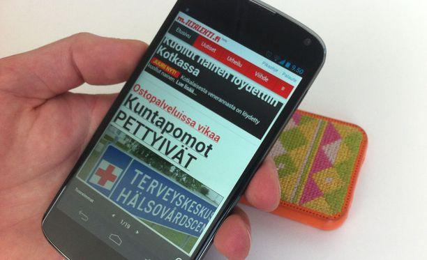 Iltalehti.fi-uutissovellus on saatavana nyt myös Android-laitteille.