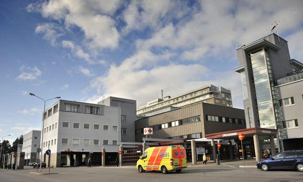 Puukotuksen uhri päätyi hoitoon Kuopion yliopistolliseen sairaalaan.