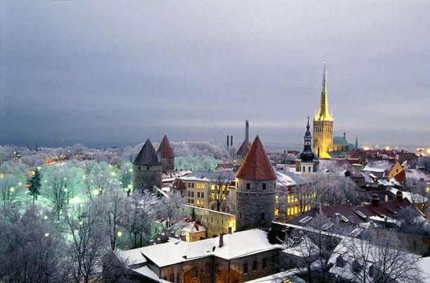 Tallinna on kaunis talvellakin.