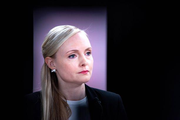 Maria Ohisalo on Suomen sisäministeri.