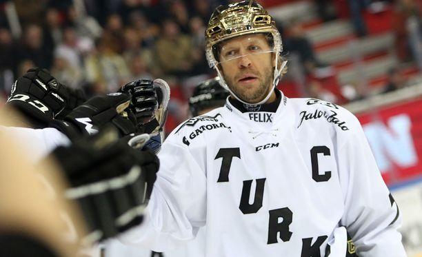 TPS-kippari Tomi Kallio oli joukkueensa tehokkain.