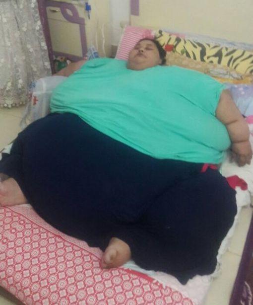 Eman Ahmed on tiettävästi maailman lihavin elossa oleva nainen.
