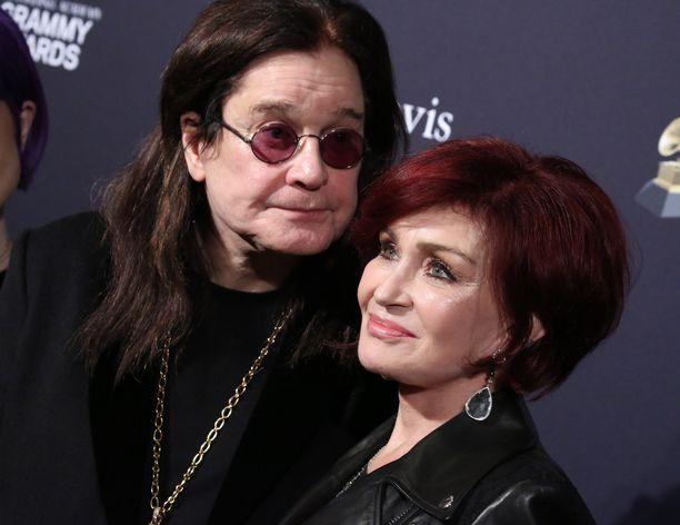 Ozzy ja Sharon Osbourne ovat olleet naimisissa vuodesta 1982. Kuva: AOP