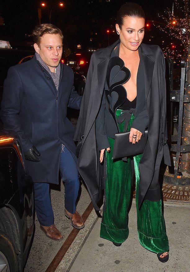 Lea Michele and Zandy Reich esiintyivät ensimmäistä kertaa yhdessä viime kesänä.