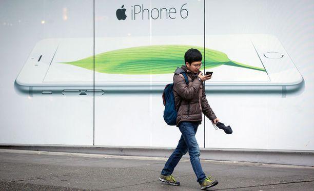 Apple-mainos Kanadan Vancouverissa.