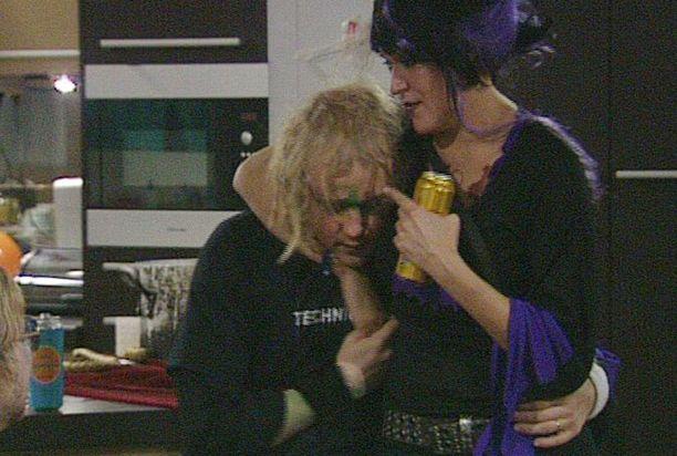 Olli ja Hanne viihtyivät yhdessä Big Brother -talossa.
