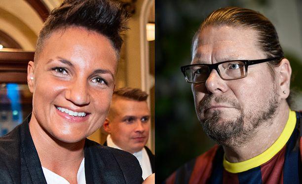 Elina Gustafsson ja Henry Saari saapuvat tänään Susanne Päivärinnan vieraiksi.
