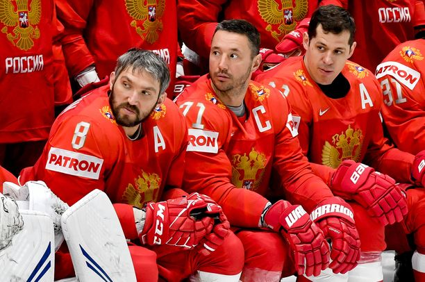 Aleksandr Ovetshkin, Ilja Kovaltshuk ja Jevgeni Malkin ovat nyky-Venäjän supertähtiä.