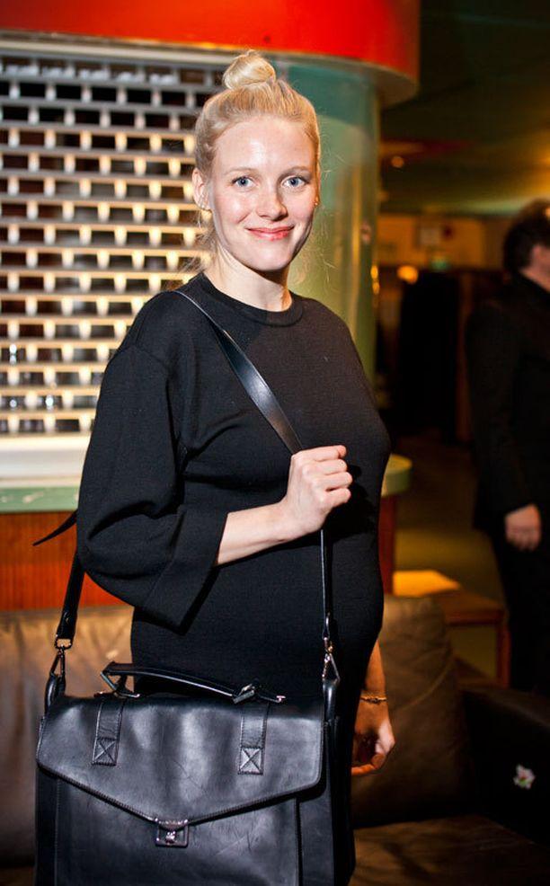 Laura Birn on voinut raskausaikansa hyvin.